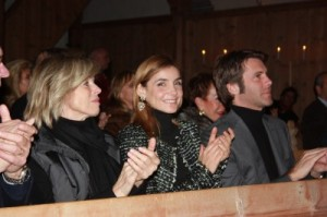 lauenen audience first night